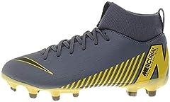 Nike Superfly 6 Academy MG, Zapatillas de Fútbol, Gris (Dark Grey/Black/Dark Grey 070), 36 EU