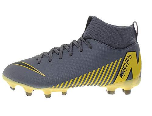 Nike Superfly 6 Academy MG Fußballschuhe, Grau (Dark Grey/Black/Dark Grey 070), 35 EU