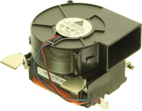 HP 357829-001 Procesador Ventilador - Ventilador de PC (Procesador, Ventilador, Socket 478, RP5000, Compaq D530, Negro)