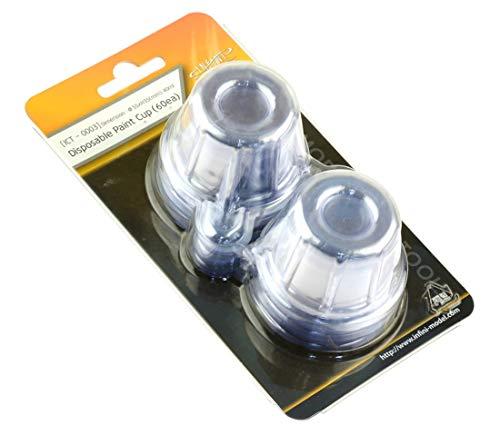 インフィニモデル 塗料カップセット 60枚入 プラモデル用工具 ICT0003