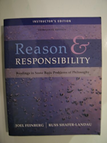Reason & Responsibility Instructor's Editon