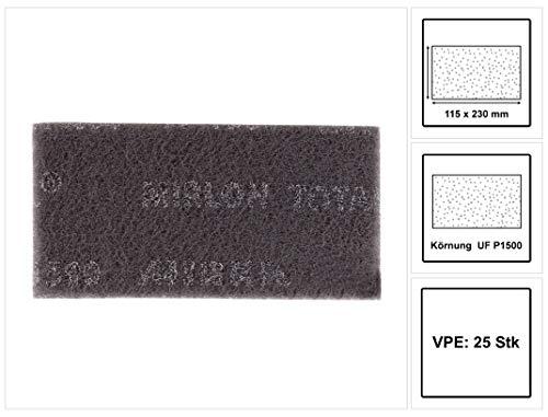 Mirka 2975001 8111202594 Mirlon Gesamt 115 x 230 mm uf grau 1500