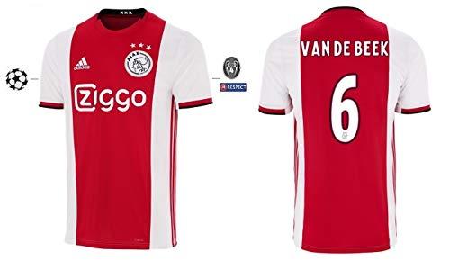Ajax Amsterdam Trikot Herren 2019-2020 Home UCL - Van De Beek 6 (M)