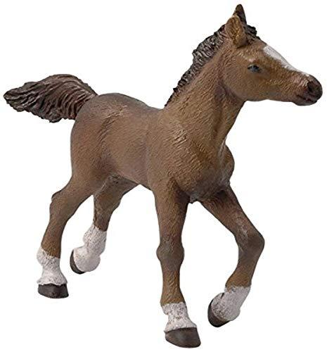 Papo 51076 Anglo-Araber Pferde, FOHLEN UND PONYS Figur, Mehrfarben