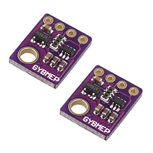 HALJIA 2PCS GY - BME280 Digital Temperature Humidity Sensor Module Barometric Pressure Sensors Board Compatible with Arduino Raspberry Pi DIY I2C SPI 5V