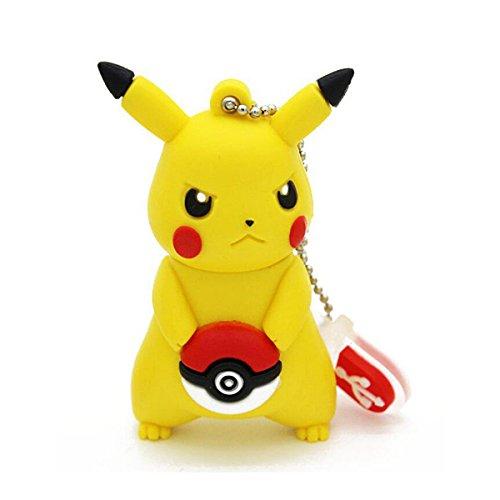 Clé usb originale 16go, Pikachu Pokemon, LIVRAISON GRATUITE EN 48H, clé usb fantaisie, clé usb fun, clé usb rigolote, clé usb drôle, clé usb 16 go,16GB 16GO