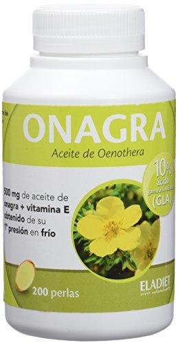 Eladiet Onagra, Aceite Oenothera - 200 Perlas