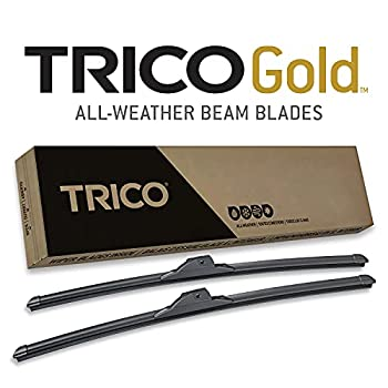 TRICO Gold 22 Inch Pack of 2 Windshield Wiper Blades For Car  18-2222
