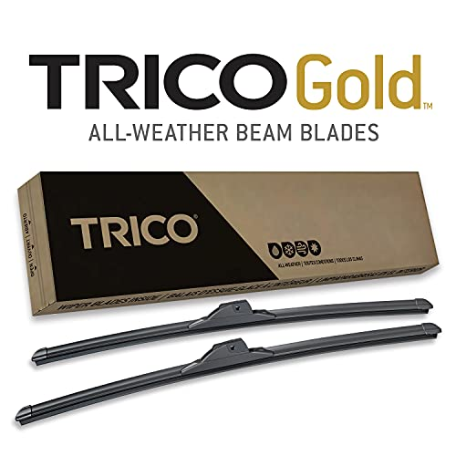 """TRICO Gold 18-2222 All Weather Beam Wiper Blades - 22""""+ 22"""" (Pack of 2)"""