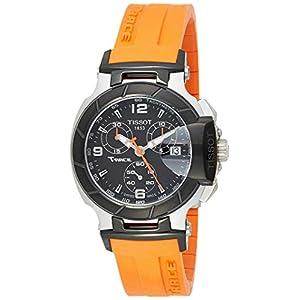 Tissot Reloj Cronógrafo para Hombre de Cuarzo con Correa en Caucho T048.217.27.057.00