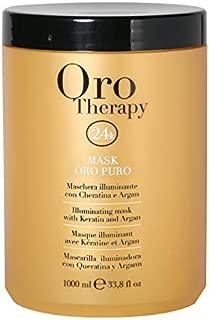 Fanola Oro Puro Illuminating Keratin Argan Mask, 1000 ml