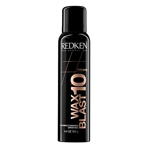 Redken Wax Blast 10 Finishing Hairspray-Wax |For All Hair Types | Adds Volumizing Body & Dimension With A Satin-Matte Finish | 4.4 Oz