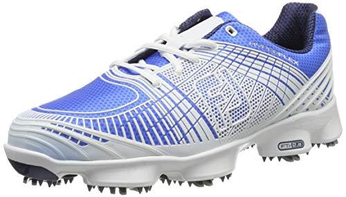 Footjoy Herren Hyperflex Ii Golfschuhe, Blau (Azul/Blanco 51068), 43 EU