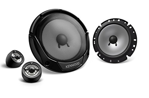Kenwood Car Audio Kfc-E170P 17cm 300W Component Speaker System