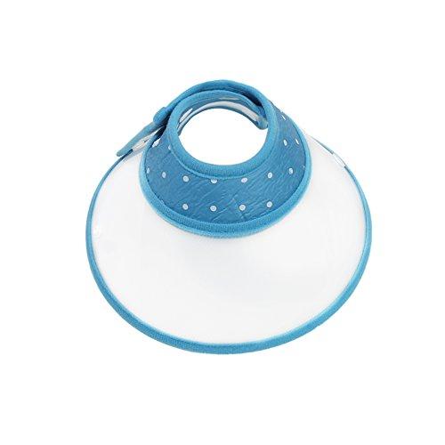 Vivifying Haustier Halskrause, Verstellbar von 17-23 cm Leichtgewicht Schutzkragen für Welpen, Kleine Hunde und Katzen