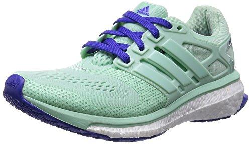 adidas Energy Boost ESM W - Zapatillas para mujer, Verde / Blanco / Morado, EU 36 2/3 (UK 4)