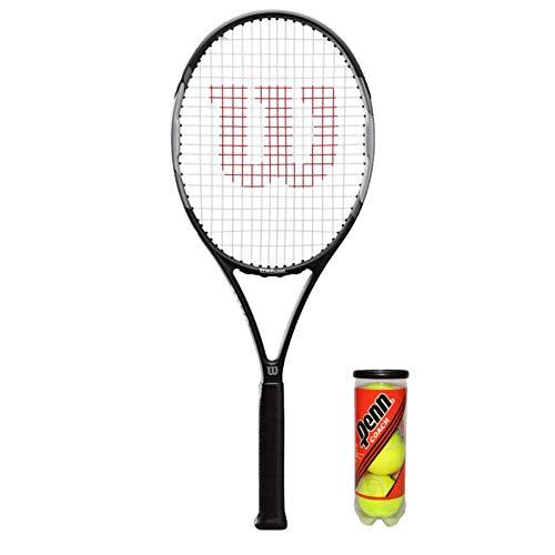 Wilson Pro Staff Precision 103 - Raqueta de tenis (varias opciones de paquete disponibles)