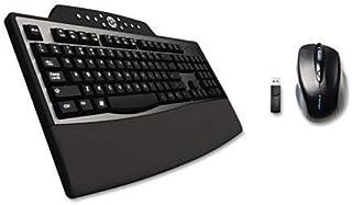 KMW 72403 Pro Fit Comfort Desktop Set, Wireless, Black