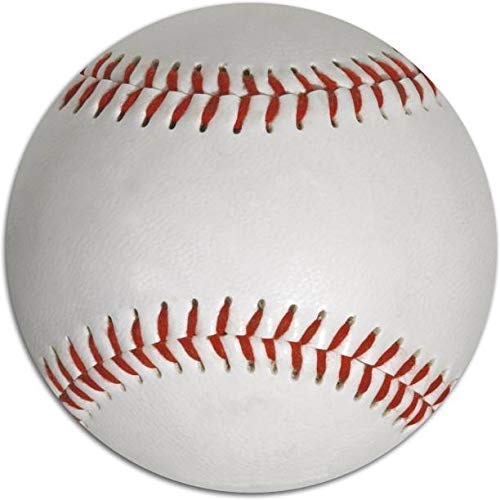Liffo® Baseball (Leather) Official Size (9 Inch) (White)