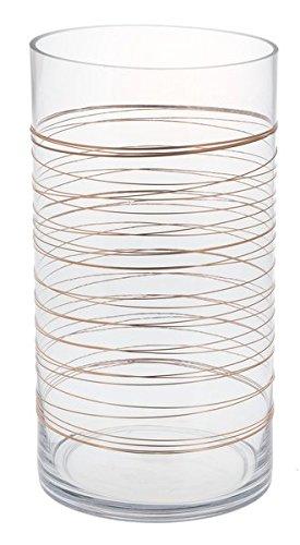 Ganz Copper Swirl Candle Holder, Large (ER55013)