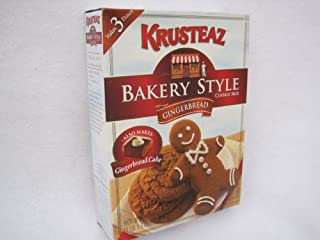 Krusteaz Gingerbread Bakery Style Cookie Mix 17.5 Oz Box (Also Makes Gingerbread Cake) (Pack of 2)