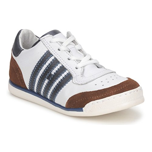 HIP ARCHIK Sneakers kind Wit/Bruin Lage sneakers