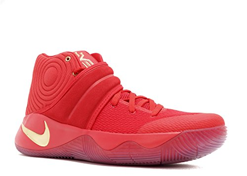 NIKE Men's Kyrie 2 LMTD, University RED/Metallic Gold, 9 M US
