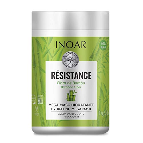 Résistance Fibra de Bambu Máscara Capilar 1000 ml, INOAR