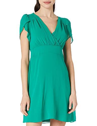 Naf Naf Londres R1 Vestido de cctel, túnez (G08P), 42 para Mujer
