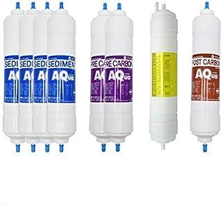 8EA Filtre à eau de rechange économique 1 an pour Coway : Neo Hi-Sense CHP-8500 CHP-8500L CHP-8500R CHP-8500U 10 microns