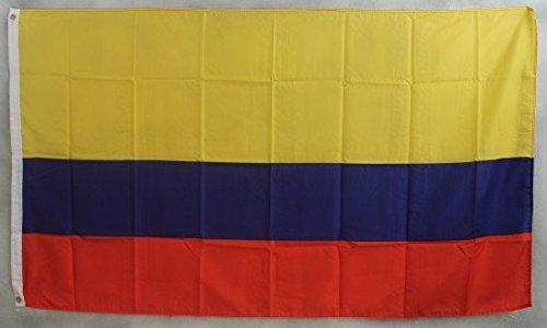 Colombie Drapeau Grand format aux intempéries 250 x 150 cm Drapeau
