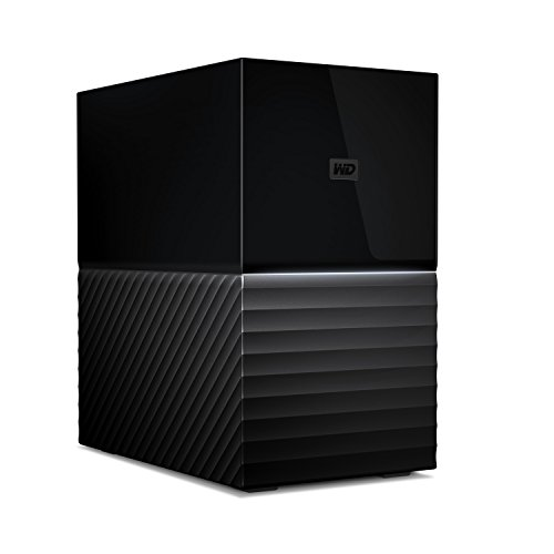 WD 8TB My Book Duo Desktop RAID External Hard Drive - USB 3.1 -...