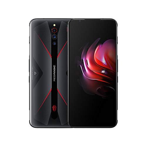 Nubia RedMagic 5G 8 GB RAM + 128 GB ROM/smartphone|Cellulari con Qualcomm Snapdragon 865 / 144Hz: frequenza di aggiornamento 6,65 ″ Display AMOLED / 64 MP Triple Camera(Nero)