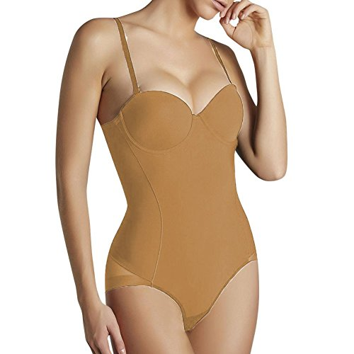 YSABEL MORA - Body Reductor PUH-UP Mujer Color: Nude Talla: 95