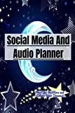 Social Media and Audio Planner : Shoot for the Stars and Achieve Your Dreams!: This is a fun organizer with an Astronomy theme! Start an epic ... a great graduation gift organizer logbook