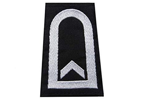 baum-m gmbh Rangschlaufen für Schulterklappen, Farbe:schwarz Feldwebel