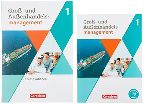 Groß- und Außenhandel - Kaufleute im Groß- und Außenhandelsmanagement - Band 1: Fachkunde und Arbeitsbuch im Paket - 451777-6 und 451783-7 im Paket
