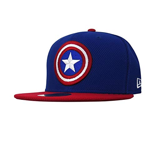 Captain America Shield Blue 59Fifty Cap (7 1/4 Fitted)