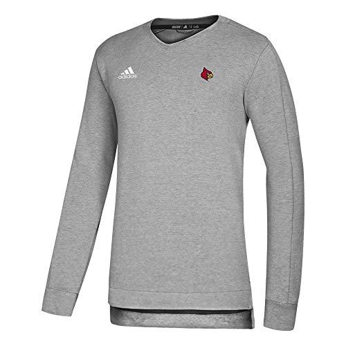 NCAA Louisville Cardinals Men's Game Mode Sweater, Red, Medium