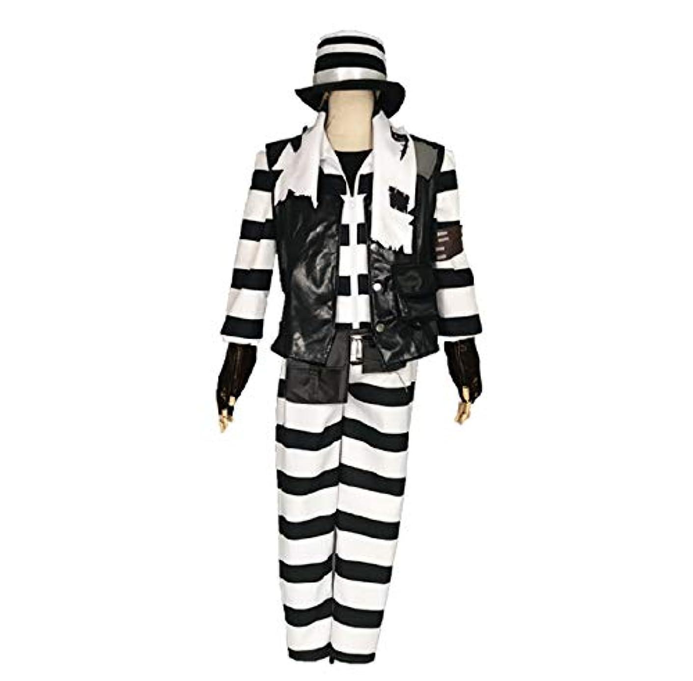 マルクス主義神聖切るアイデンティティ5 道化師 コスプレ 衣装 スキン 囚人 男性M