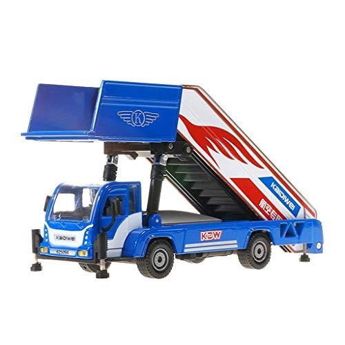 Modelo de automóvil 1:43 Embarque Aleación de aleación Aeropuerto Escalera de vehículos Telescópica Rampa Modelo de coche Pasajero Puente Modelo Modelo de juguete para niños Regalo de adultos