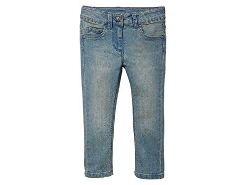 lupilu Kleinkinder Mädchen Jeans Hose Blau 116