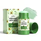 Clay Mask Stick Avocado Dead sea Mud Mask Natural Green Tea Purifying Clay Stick Mask Deep Cleansing Blackhead Remover Clay Mask Nourishing Hydration Facial Mask With Blackhead Remover Extractor Tools