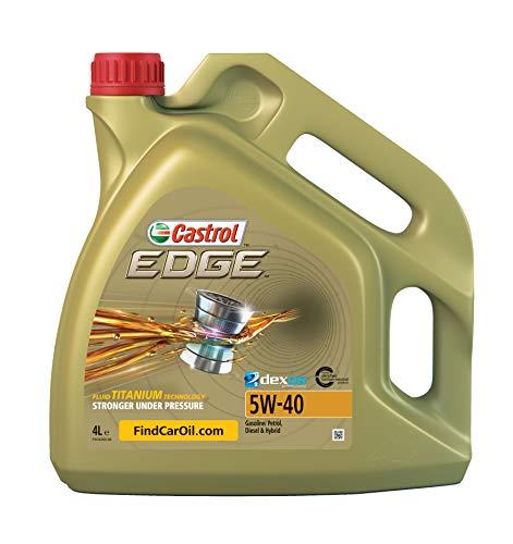 Castrol Edge - Olio motore 4L 5W-40