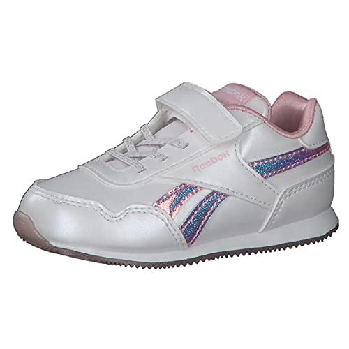 Reebok Royal CLJOG 3.0 1V, Zapatillas Mujer, Blanco/Blanco/CLAPNK, 38 EU