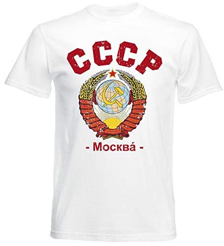 aprom CCCP T-Shirt Fußball Trikot Sowjetunion UDSSR W 14 (XL)