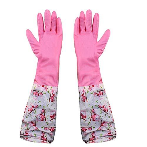HOKIPO Reusable Odour Free PVC Hand Gloves