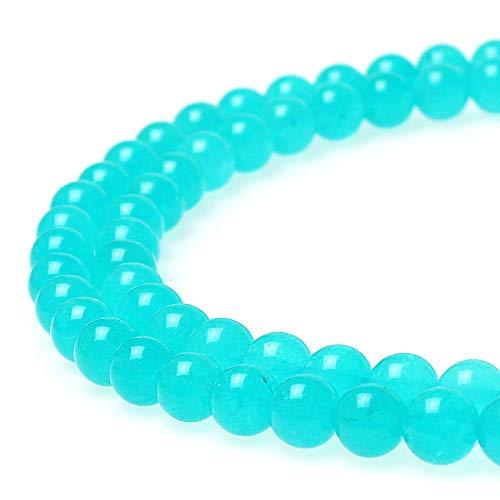 JARTC Best Sellers Amazonite Color Jade Stone Round Loose Stone Beads DIY for Jewelry Bracelet Making 4mm