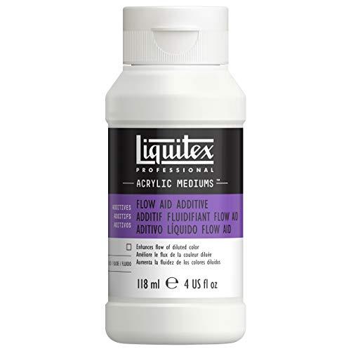 Liquitex Professional 5620 Farbflussverbesserer, erhöht die Fließfähigkeit von Acrylfarbe ohne Veränderung der Stabilität, 118 ml Flasche