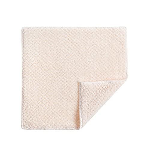 Asciugamano morbido Panno assorbente Strofinacci Antiaderente Olio Velluto Asciugamano Cucina...